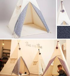 teepee tent scandinavian white spielkeller co pinterest kinderzimmer tipi zelt und. Black Bedroom Furniture Sets. Home Design Ideas