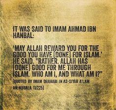 Salaf  Imam Ahmad Ibn Hanbal