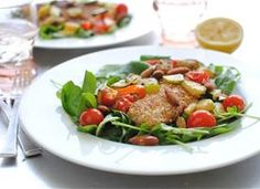 Almond-Crusted Tilapia with Veggies Recipe - Tablespoon