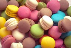 Stock Photo Macarons