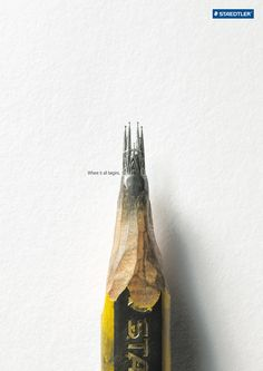 Staedtler - Where it all begins. #Advertising #Print