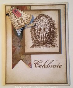 Taking Feeling Sentimental for a spin by MaryEB - Cards and Paper Crafts at Splitcoaststampers