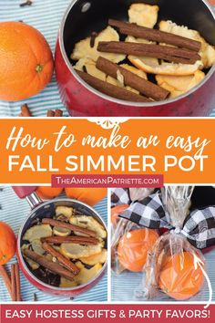 Make your own autumn-scented air freshener with this easy DIY fall simmer pot recipe! With cinnamon, cloves, and other scents of the season, you can assemble this homemade potpourri in less than a minute and use it to make your house smell amazing! Fall Potpourri, Homemade Potpourri, Simmering Potpourri, Stove Top Potpourri, Potpourri Recipes, Fall Smells, Diy Fall Scents House Smells, Fall Diy, Autumn Fall