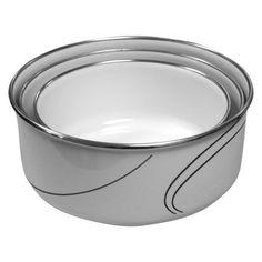 Corelle 6-pc. Enameled Bowl Set - Simple Lines  12.19 Target