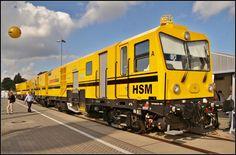 Schweerbau Service Unit in Berlin Work Train, Trains, Berlin, The Unit, Train