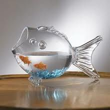 goldfish bowl table decorations - Google Search