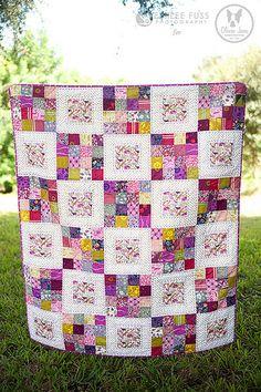 Ideas Patchwork Quilt Ideas Jelly Rolls Simple For 2019 16 Patch Quilt, Strip Quilts, Quilt Blocks, Colchas Quilting, Quilting Projects, Quilting Designs, Quilting Ideas, Crazy Quilting, Quilting Templates