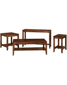 Amish Fairfield Occasional Table