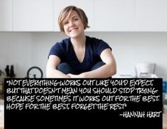 Hannah hart quote I freakin love her on youtube