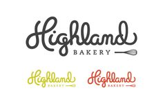 Highland Bakery by Stephanie Toole, via Behance