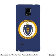 Massachusetts The Bay State Personalized Flag Galaxy Note 4 Case