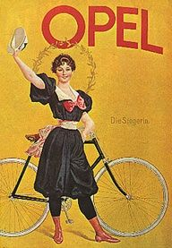 Londonderry wore black tights when she cycled with bloomers as well