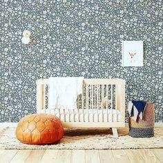 Blue flowery wallpaper for a nursery What do you think.. For a boy or a girl ? Via @thelondonbabystore @theanimalprintshop I - - - - #kidsinteriors_com #kidsinteriors #kidsinterior #kidsroom #childrensroom #barnrum #nursery #nurseryinspo #nurserydecor #babydecor #babynursery #barnerom #chambreenfant #chambrebebe #kinderkamer #kinderzimmer #kidsdesign #designforkids #barnrumsinspo