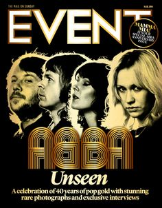 ABBA, 16th Feb 2014  #EventCover