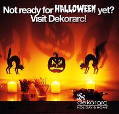 Not ready for Halloween? Visit Dekorarc!