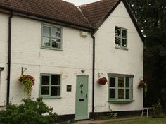 Chartwell green cottage bar windows
