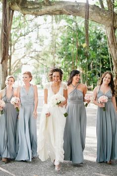 Years from now, a darling photo en route to the ceremony will remind you of the mix of excitement and butterflies in your stomach you felt on your way to the aisle, along with the friends who helped you get through it all.