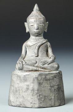 Antique Laos Buddha, 18th Century - Price Estimate: $400 - $600