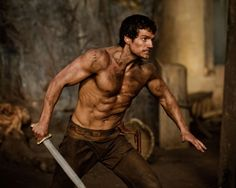 """Henry Cavill as Theseus in """"The Immortals""""."""