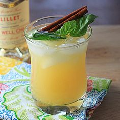 Lillet and Soda