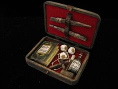 OOAK 1 12 Scale Dollhouse Miniature Vampire Hunter Slayer Kit Huesdesigns | eBay