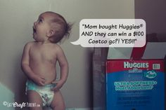 Huggies On Sale at Costco + Enter to Win a $100 Costco gift card! #HuggiesPlus #ad