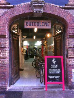 Association Atelier réparation vélos + bistro + Librairie  GUIDOLINE 36-38 rue Molière 76000 ROUEN