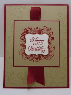 Quick card using Everyday Elegance stamp set
