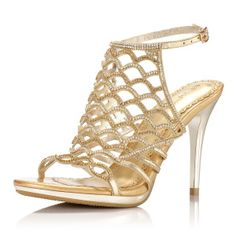 $67.70 Ou Daier 2013 spring and summer wedding shoes sexy fish scale grain hollow high heels leather sandals B654
