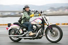 TOMOKI / HARLEY-DAVIDSON FXD ガールズライダー 【STREET-RIDE】ストリートバイク ウェブマガジン