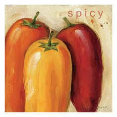 Spicy Giclee Print by Lisa Audit at AllPosters.com