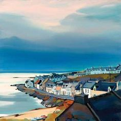 Islay: Hebridean Haven by Pam Carter - we both love Pam Carter's paintings - we're going to have one as a retirement gift to ourselves!