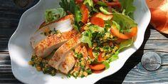 20 Minuten - Blattsalat mit Poulet an Linsen-Vinaigrette - News