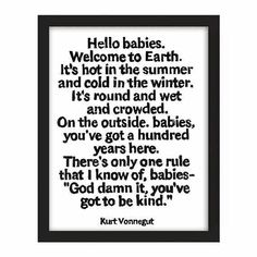 Kurt Vonnegut - God Bless You, Mr Rosewater Pretty Words, Beautiful Words, Cool Words, Wise Words, Quotable Quotes, Book Quotes, Me Quotes, Drama Quotes, Poetry Quotes