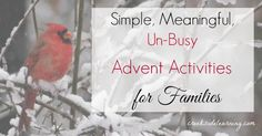 Advent activities for the advent calendar for families. Simple, easy, meaningful activities that don't cost anything and help savor slow holiday seasons this year Christmas Countdown, Family Christmas, Winter Christmas, Winter Holidays, Christmas Crafts, Christmas Ideas, Xmas, Christmas Activities For Families, Advent Calendar Activities