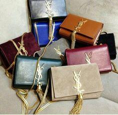 Ysl clutch heaven! Diese und weitere Taschen auf www.designertaschen-shops.de entdecken