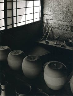 Japanese clay workshop: photo by Linda Butler from Rural Japan