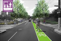 """ASLA 2010 Professional Analysis & Planning Honor Award. Transit Revitalization Investment District (TRID) Master Plan / image: Interface Studio LLC. More in """"FHWA's Pedestrian and Bicycle Strategic Agenda"""" – The Field, a blog of the American Society of Landscape Architects"""
