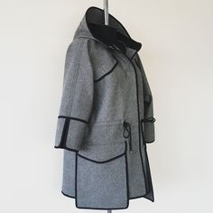 Fashion Line, Fashion Details, Winter Coat, Fall Winter, Couture, Womens Fashion, Jackets, Outfits, Clothes