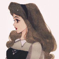 Disney Princess Art, Princess Aurora, Disney Fan Art, Princess Bubblegum, Disney Drawings, Cute Drawings, Disney Cartoons, Disney Movies, Disney Designs