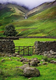 Lake District, England.                                                                                                                                                                                 More