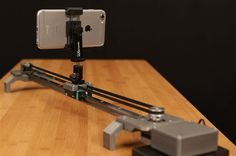 Adafruit's upgraded 3D printed DIY camera slider features motors and Bluetooth control