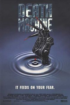 Death Machine.  Good film from the early 90's that is actually better than I expected.  Stars Wormtongue from the Lord of the Rings.  Very cyberpunk horror, in the way only 80's films can be.