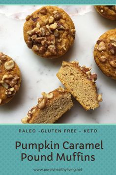 Gluten Free Baking, Gluten Free Recipes, Low Carb Recipes, Baking Recipes, Real Food Recipes, Healthy Living Recipes, Easy Healthy Recipes, Fall Recipes, Delicious Recipes
