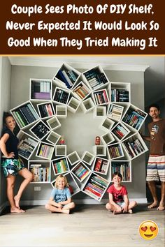 #Couple #Sees #Photo #DIY #Shelf #Never #Expected #Look #Good #Tried Good Things Take Time, Pom Pom Crafts, High School Sweethearts, Acrylic Nail Designs, Acrylic Nails, Night Outfits, See Photo, Bookshelves, Trendy Outfits