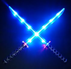 "| Deluxe Ninja LED Light Up Sword 26"" w/ Motion Activated Clanging Sounds x1 