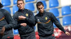 the most talented brothers ever. Thorgan Hazard and Eden Hazard