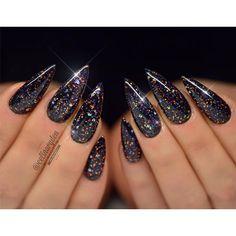 P+ Black Magic Glitter Gel