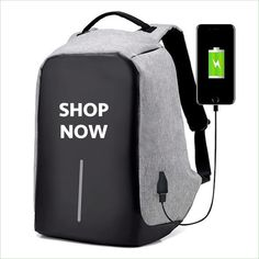 Best 11 Original USB Charging Anti-Theft Backpack is a USB charging, anti-theft backpack that holds just about anything you need while keeping it all safe with enhanced safety features (i. And don't worry about spills! It is water and s Mochila Jeans, Mochila Adidas, Road Trip Snacks, Style Masculin, Jamel, Anti Theft Backpack, Back To School Sales, Cool Inventions, Backpack Bags