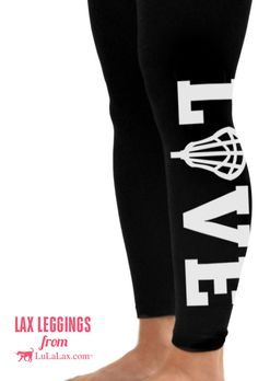 Lax girls LOVE our lacrosse leggings! After a long practice or game, these leggings are just the thing your lacrosse girl will love to relax in! They can also serve as warm up gear when the weather is chilly. These high quality leggings are soft, comfy, and make a great gift for any girls lacrosse player!